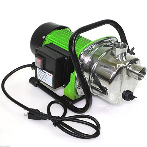 1.6 Hp 1200 Watts Stainless Steel Jet Booster Water Pump ...