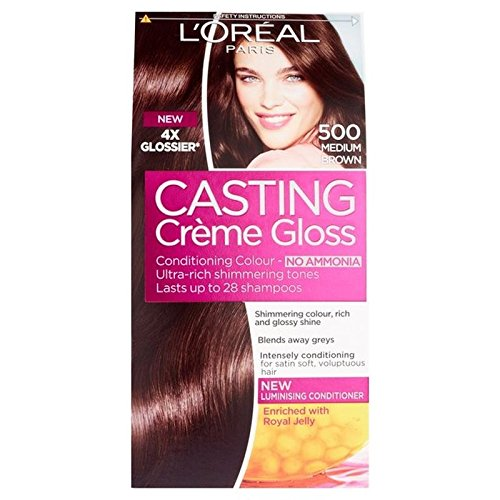 L'Oreal Casting Creme Gloss Medium Brown 500 (PACK OF 4)