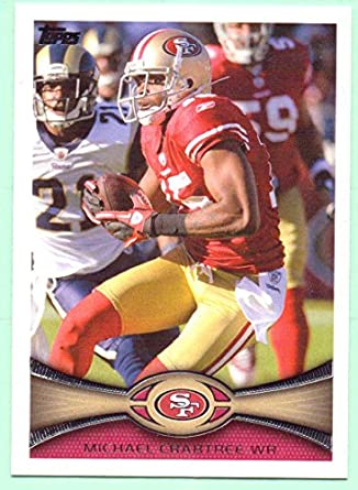 Michael Crabtree 2012 Topps  335 - San Francisco 49ers at Amazon s ... 9dc9ba95f