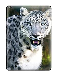 Cindy Yolanda's Shop Snap-on Snow Leopard Case Cover Skin Compatible With Ipad Air 5031245K60493648