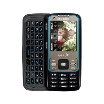 amazon com samsung rant sph m540 sprint cell phone purple cell rh amazon com Samsung Intensity 3 Samsung Seek