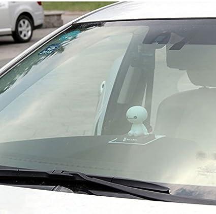 NUBEN Car Decoration Ornaments Auto Accessories Baymax Shaking Head Kid Toys