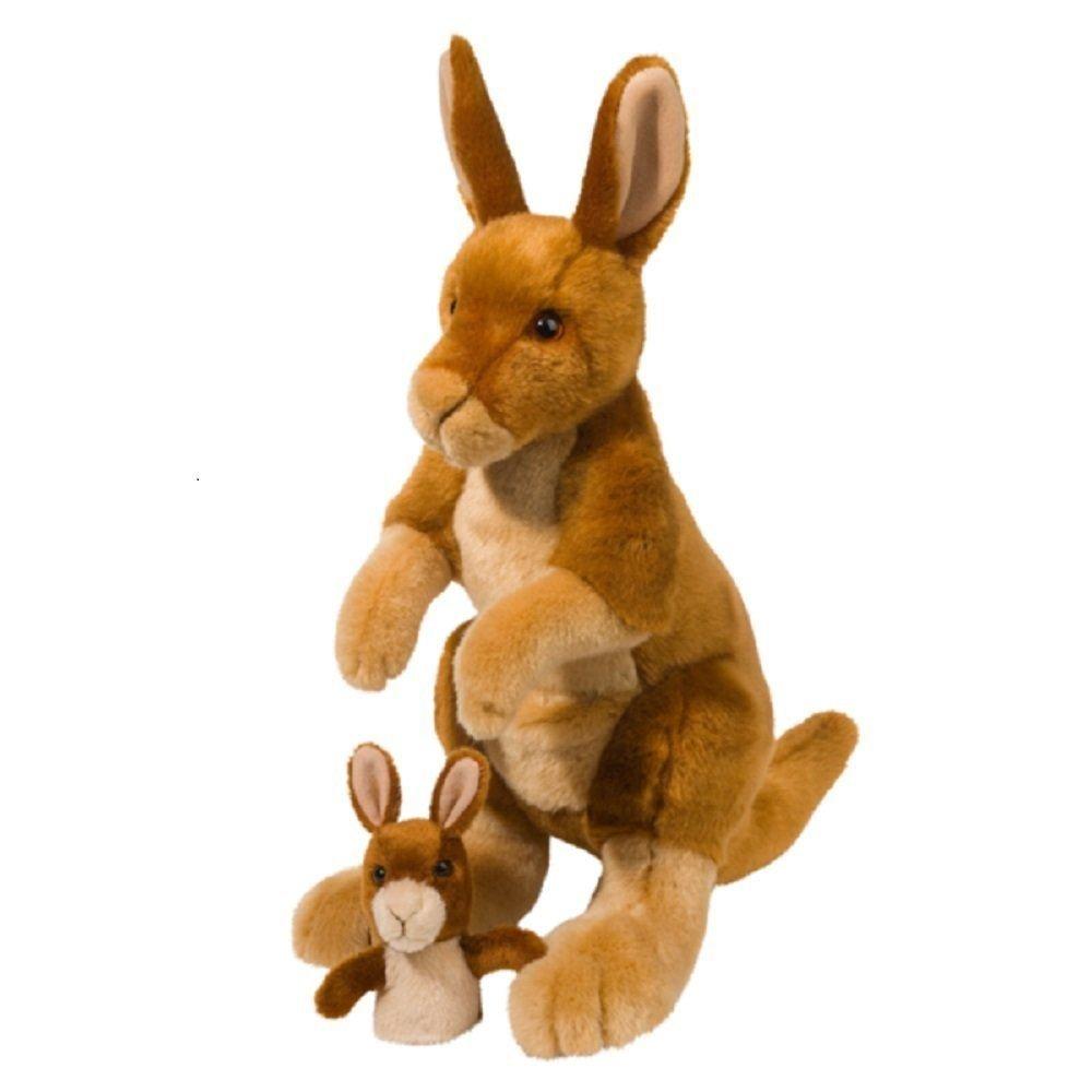 Douglas Toys Hopster Känguru & Joey