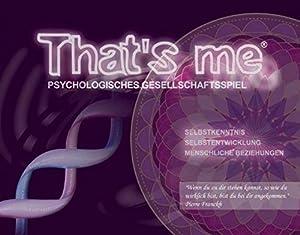 That's me - Psychologisches Gesellschaftsspiel für Jugendliche und Erwachsene