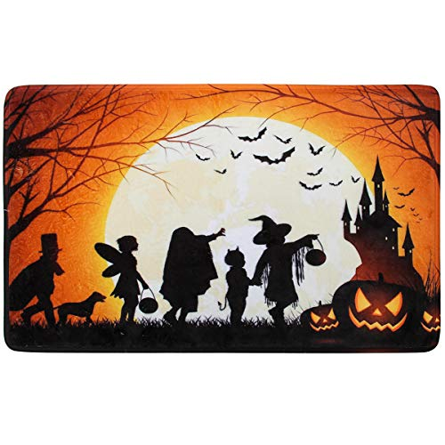 Coitak Halloween Decorative Doormat, Indoor Outdoor Doormat Non Slip, Perfect Greeting Front Door Mat (24