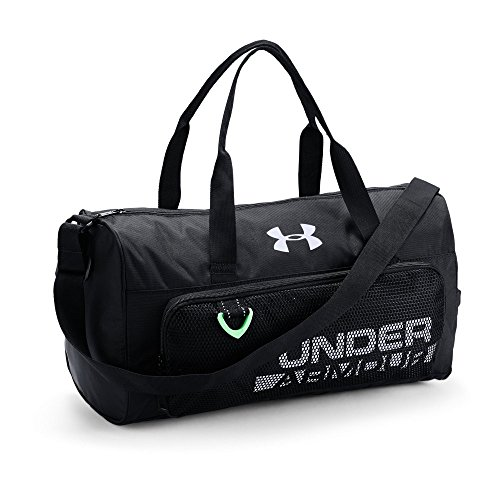 Under Armour Boys' Armour Select Duffle, Black /White, One S