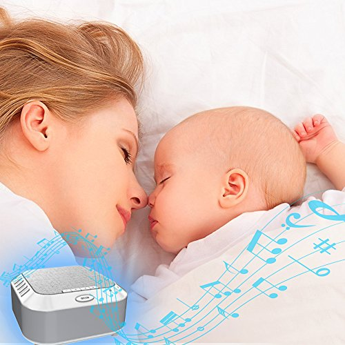 White Noise White Night Light Sleep Sound Therapy Travel for Toddler Home
