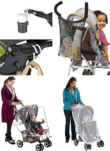 NUBY Deluxe Stroller Accessory Set