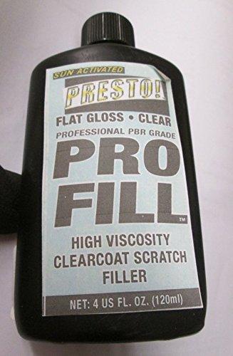 4oz Presto! ProFill FLat Gloss High Viscosity Clearcoat Scratch Filler ()