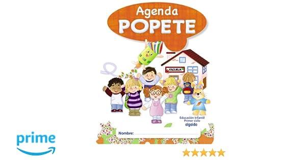 Agenda Diario Popete. 1º Ciclo Educación Infantil ...