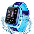 Bohongde Kids Smartwatch Waterproof with SOS Camera Alarm Clock 1.44 HD Screen Games for 3-12 Year Old Boys Girls Great Gift