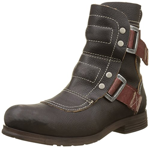 Fly Black Botas para Seli700fly Mujer Militar Negro London rwrq18A