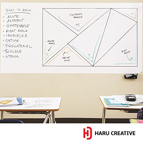 Haru Creative Dry Erase Board Whiteboard Wall Mural