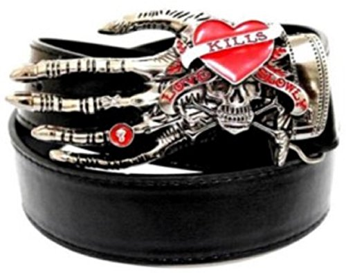 Cool Skull Buckle Belt (B type - River Valley Center Stores