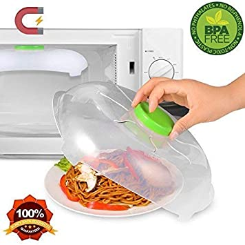 Coperchio magnetico per forno a microonde con ugelli a vapore e forti calamite sicuro e privo di BPA