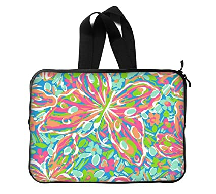 best website a44a9 cebc3 Amazon.com: Lilly pulitzer Laptop Sleeve 13 / 13.3 Inch for Macbook ...