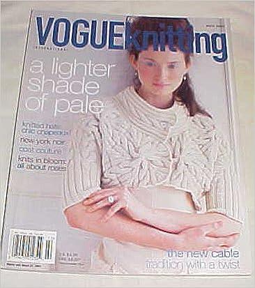 Téléchargement gratuit ebook forum Vogue Knitting International Winter 2006/07 Magazine A Lighter Shade of Pale (French Edition) iBook B00A3CQXFG