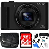 Sony Cyber-shot HX80 Compact Digital Camera 64GB Memory Card Bundle includes Camera, Card, Reader, Wallet, Case, HDMI Cable, Mini Tripod, Screen Protectors, Cleaning Kit, DigitalAndMore Cloth & More!