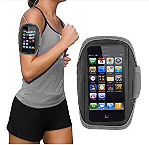 Sport Running Waterproof Armband Case for Apple Iphone 5 Apple, Jogging , Outdoor Sport (Gray)