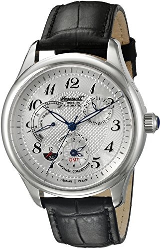 Ingersoll Men's IN8410WH Sam Analog Display Automatic Self Wind Black Watch