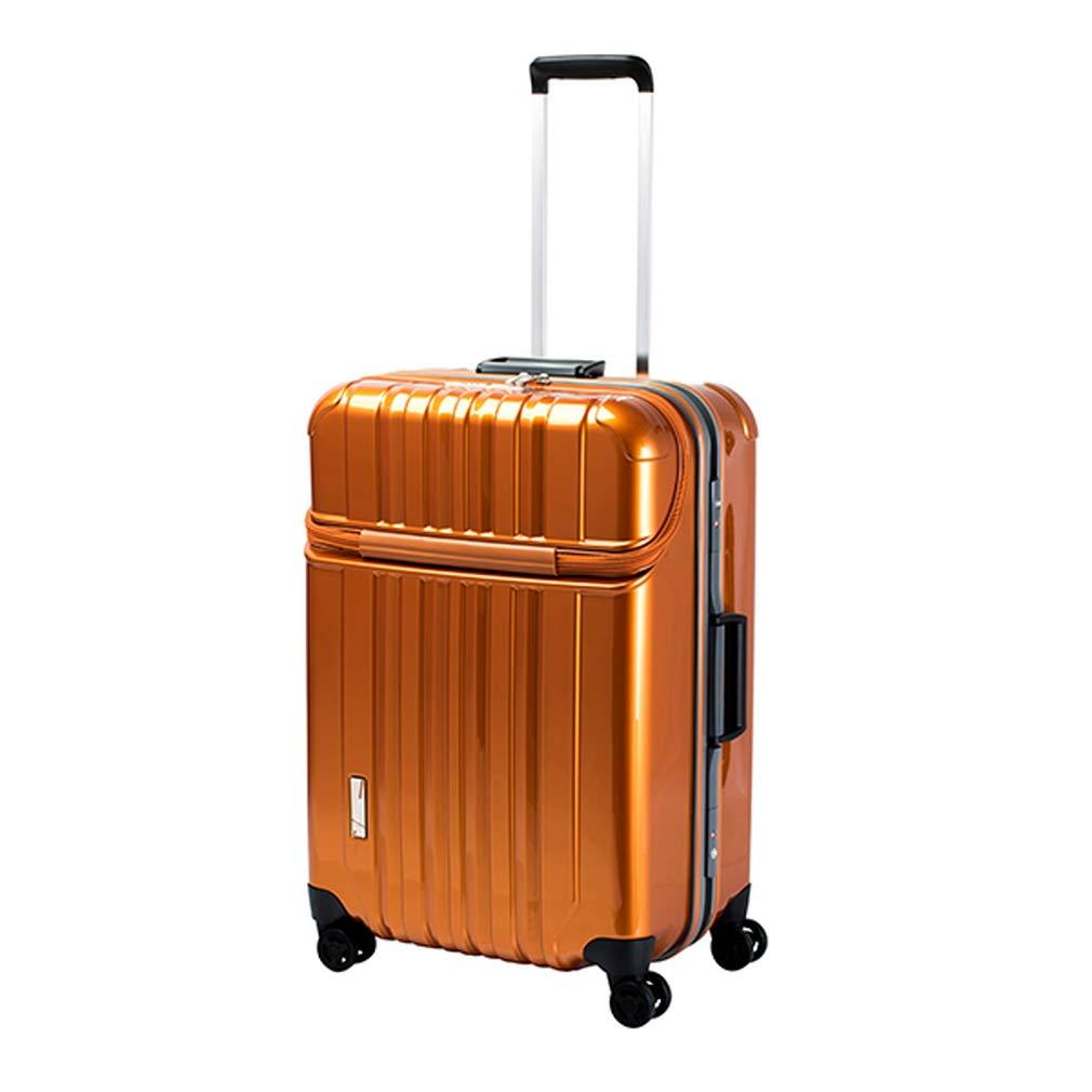 トラベリスト TRAVELIST トップオープン スーツケース 76-20429 トラストップ 75L オレンジ 代引き不可[bg]   B07KHVT1F2