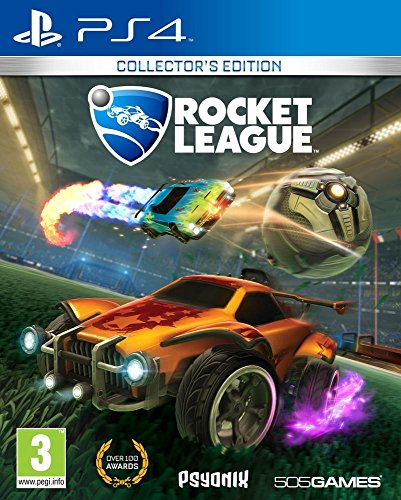 Rocket League: Collector's Edition - PlayStation 4 (Best Ps4 Split Screen Multiplayer Games)