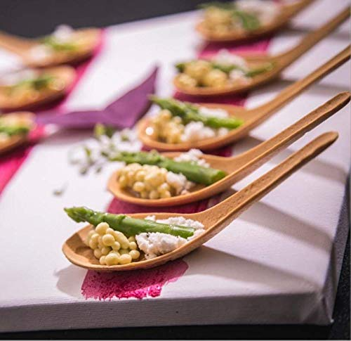 Edible Asian Spoon - Vegan and READY TO EAT (24 Spoons) by Bocado (Image #4)
