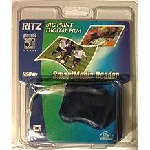 Big Print USB SmartMedia Card Reader by Lexar Media
