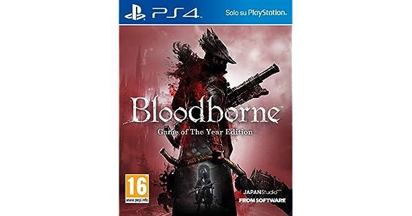 Sony Bloodborne: Game of the Year Edition, PlayStation 4 Básico PlayStation 4 Inglés vídeo - Juego (PlayStation 4, PlayStation 4, Acción / RPG, M (Maduro)): Amazon.es: Videojuegos