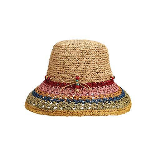 Lounge Chair Raffia - Sunhat for Women - Cappelli Straworld - Luxury Hand Crocheted Raffia Cloche