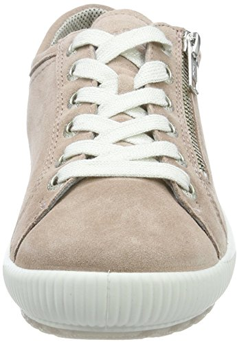 Legero Damen Tanaro Lage Sneakers Beige (poeder)