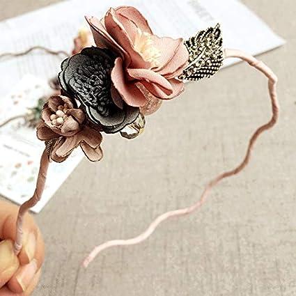 Amazon Com Deemoshop Korea Spring Flowers Hand Made Fabric Flowers