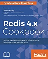 Redis 4.x Cookbook Front Cover