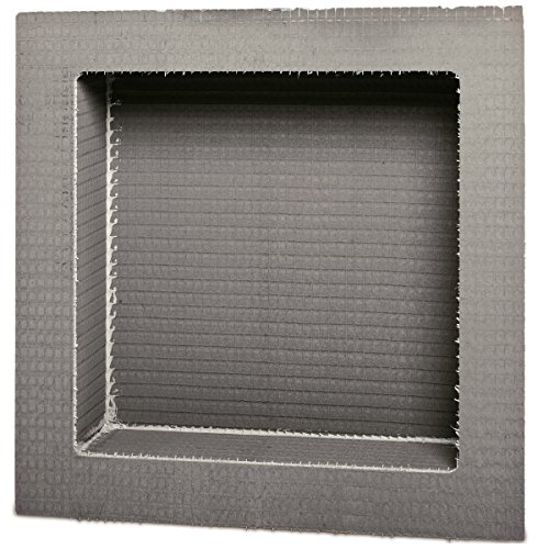 "Wedi Shower Niches, 16"" x 16"" Square Edge Niche"