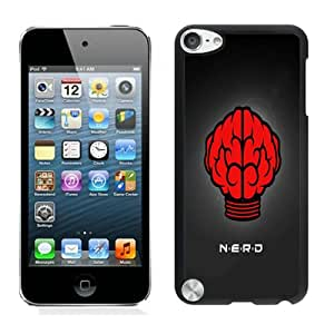 Fashionable And Unique Designed With NERD Cover Case For iPod Touch 5th Black Phone Case CR-464