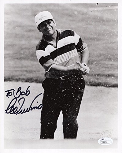 Signed Lee Trevino Photo - 8x10 LEGEND TO BOB - JSA Certified - Autographed Golf Photos (Certified Photo 8x10 Autograph Golf)