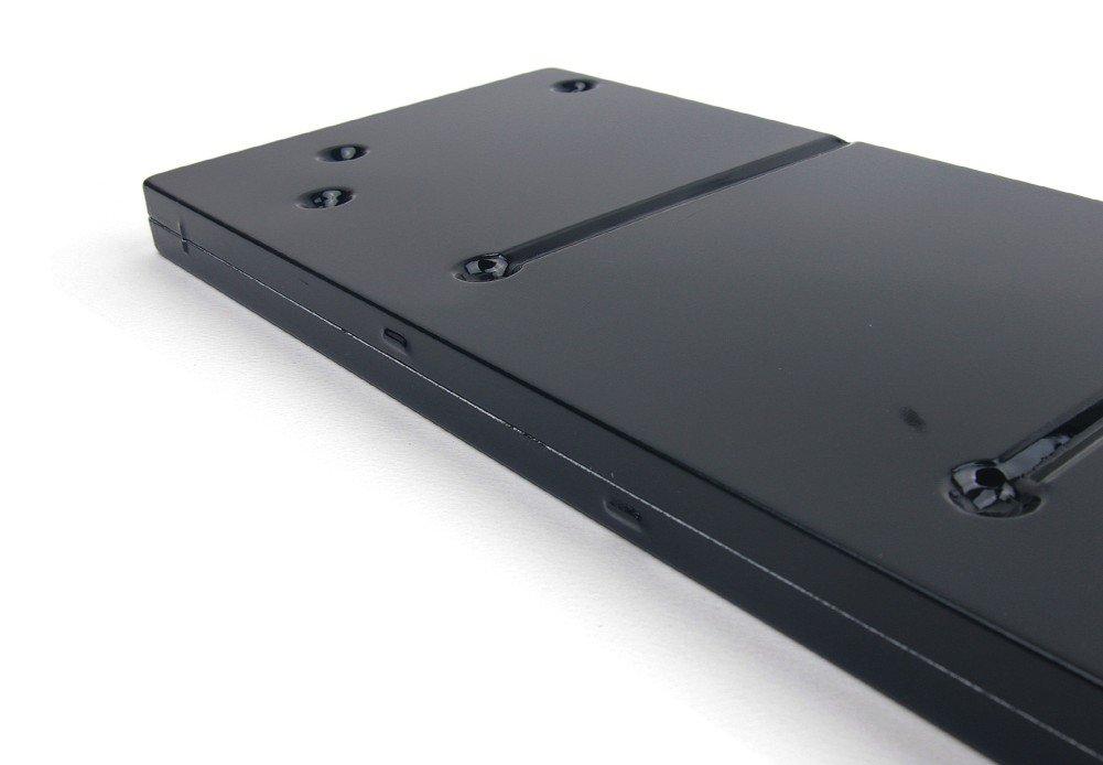 10.04x4.33x0.75 13 Well noir Color Around Bo/îte daquarelle en aluminium