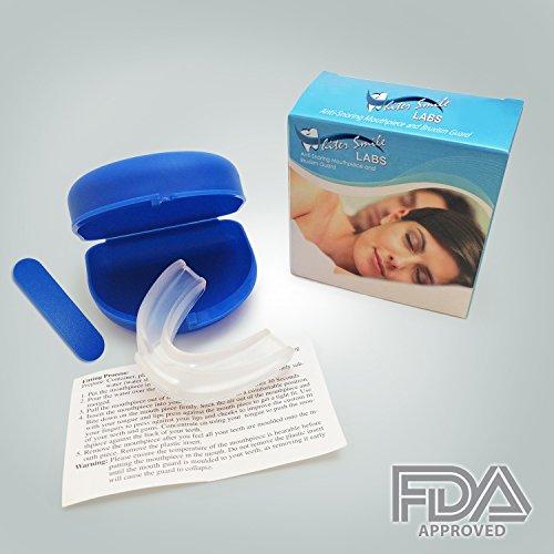 Ultime Anti ronflement buccal-Made In USA BPA gratuit-nuit garde grincements dents, le bruxisme TMJ-conçu par Oral Surgeon-Satisfaction garantie !