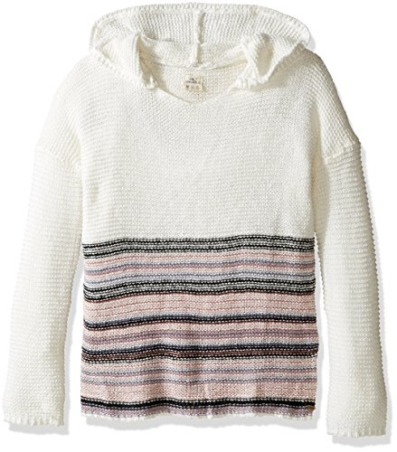 Oneill Winter Sweater - O'Neill Girls' Little Elle Sweater, Winter White, 8-10/Medium