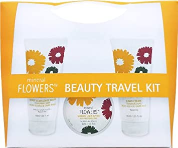 9cddc280d987 Amazon.com : Mineral Flowers Travel Beauty Kit - Chamomile : Skin ...