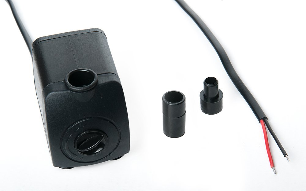 12V Wasserpumpe 7W 500l//h Teichpumpe Gartenteichpumpe Wasser Pumpe Tauchpumpe