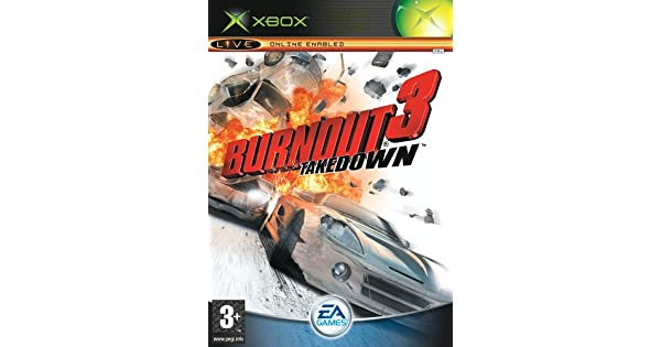 Amazon com: Burnout 3: Takedown (Xbox): Video Games