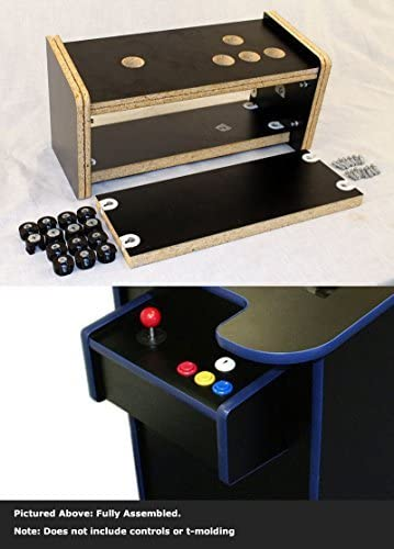 Cocktail Arcade game cabinet Replacement controller panel kit pre-drilled complete replacement Price is per control panel.