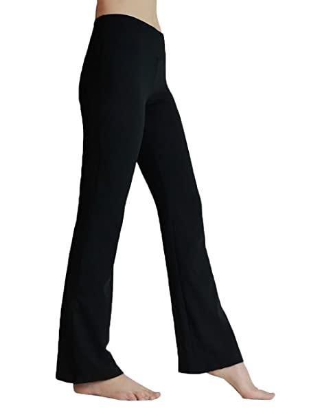 5cb69e4b1d470 FITIBEST Women Bootcut Yoga Pants Tummy Control Stretchy Bootleg High Waist  Sports Trousers with Inner Pocket