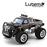 Lutema Big Shocker 4CH Remote Control Truck, Black