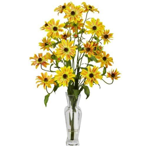 Cosmos with Vase Silk Floral Arrangements 1172-YL