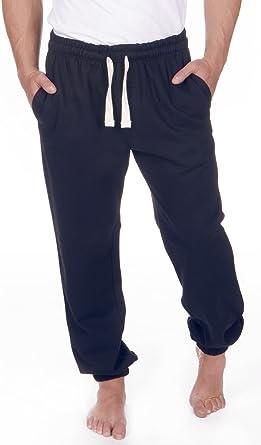 Red Tag - Pantalones deportivos para hombre, talla grande, de forro polar, 3XL a 6XL