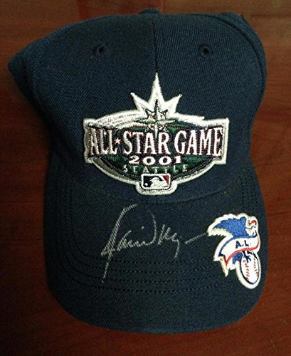 5f6d2be84ca Image Unavailable. Image not available for. Color  Jamie Moyer Autographed  2001 All Star Game Seattle Mariners Cap Owned by Him