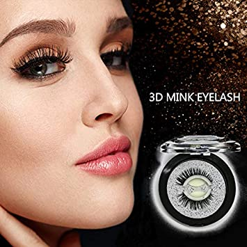 8edfd41ef6c Self Adhesive Eyelashes - Mink 3D False Eyelashes- 3 Seconds to Wear, No  Glue