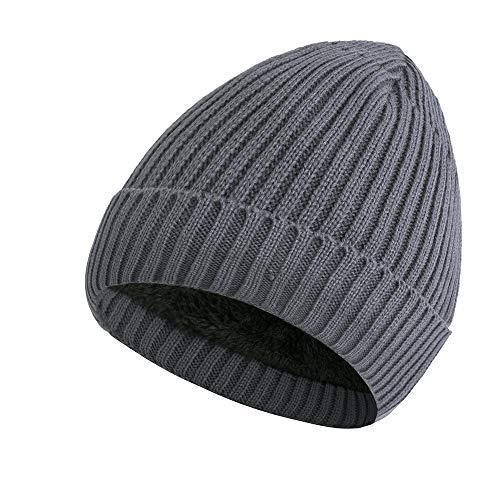 Most Gifted! Teresamoon Men Women Baggy Warm Crochet Winter Wool Knit Ski Beanie Skull Slouchy Caps Hat -